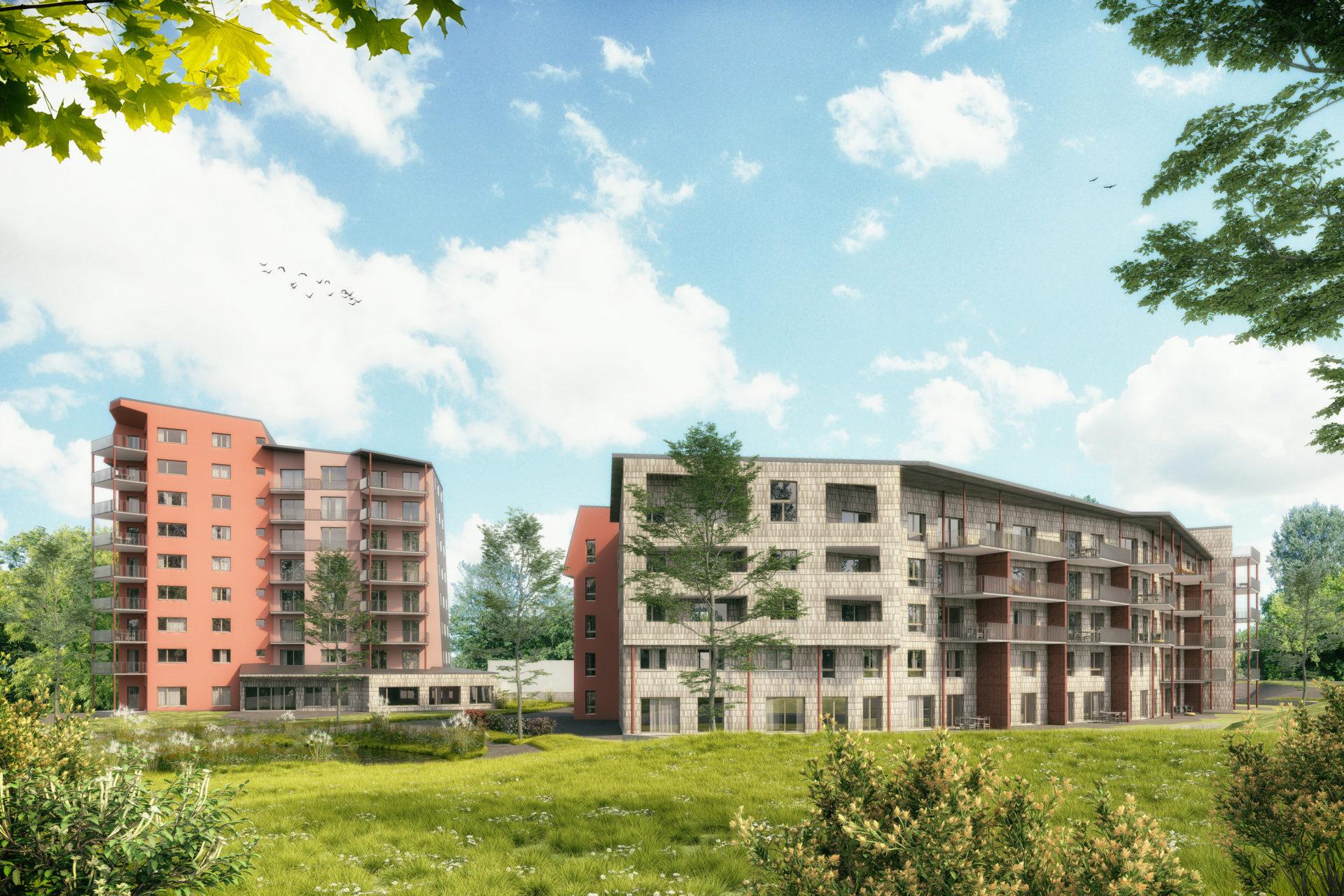 Wohnüberbauung Hanro, Liestal