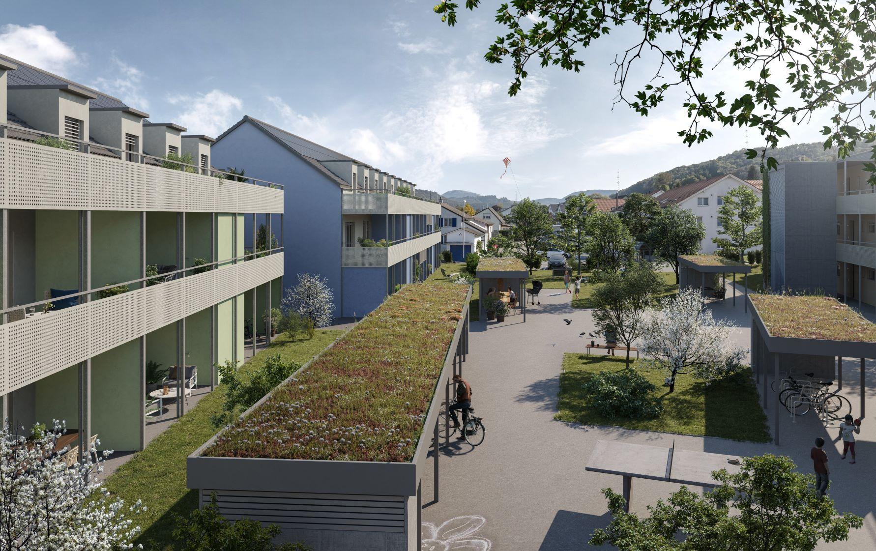 Wohnüberbauung Dell